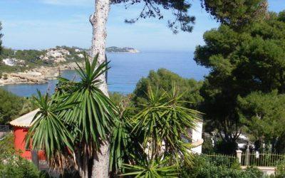Herrliches Haus mit traumhafter Meersicht an der Cala Provenzal für bis zu 8 Personen
