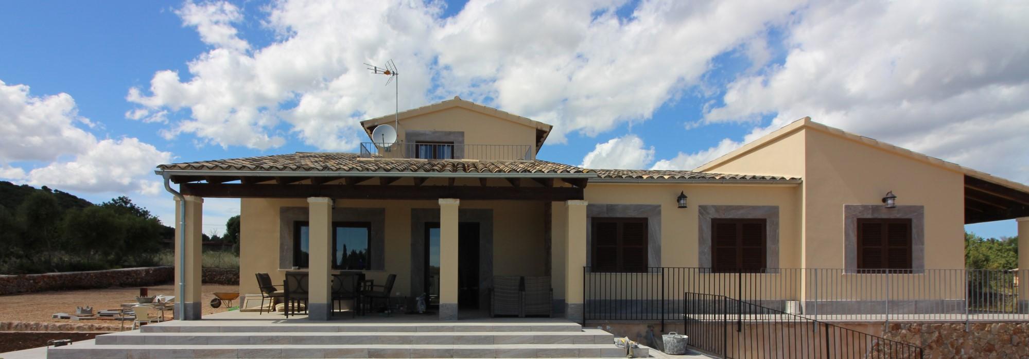 Neue Landfinca für bis zu 7 Personen in Son Carrio mit Meersicht
