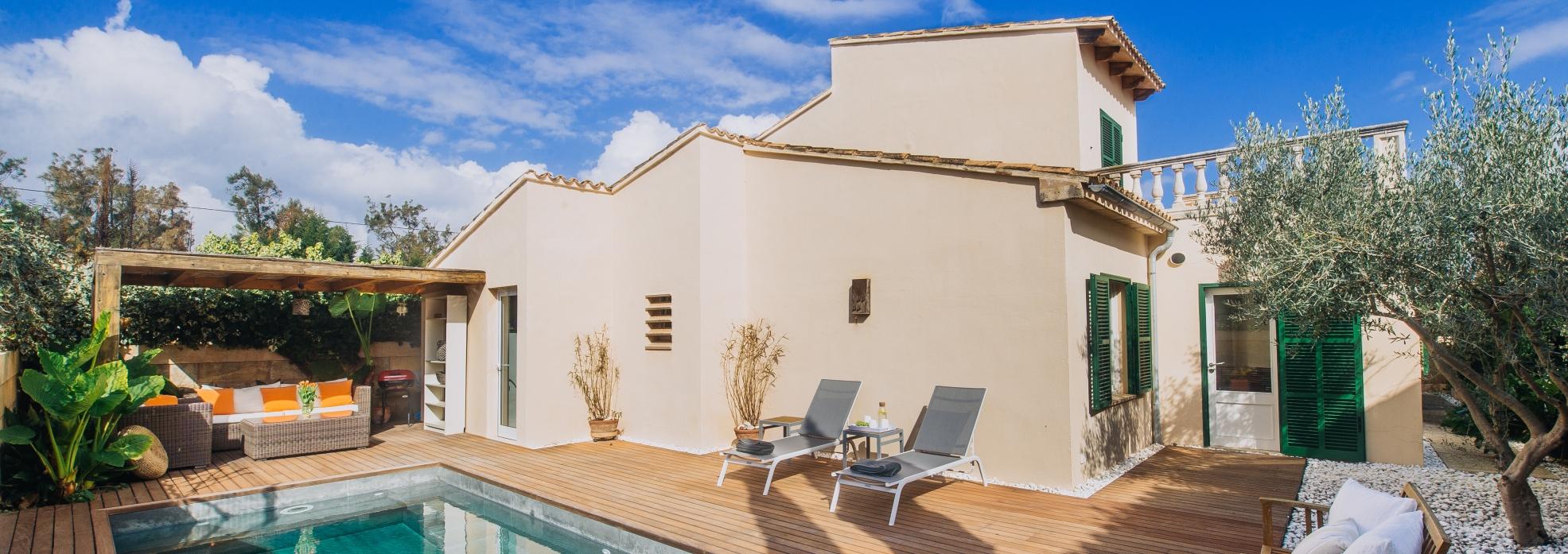 Schönes Stadthaus in Cala Millor für bis zu 6 Personen