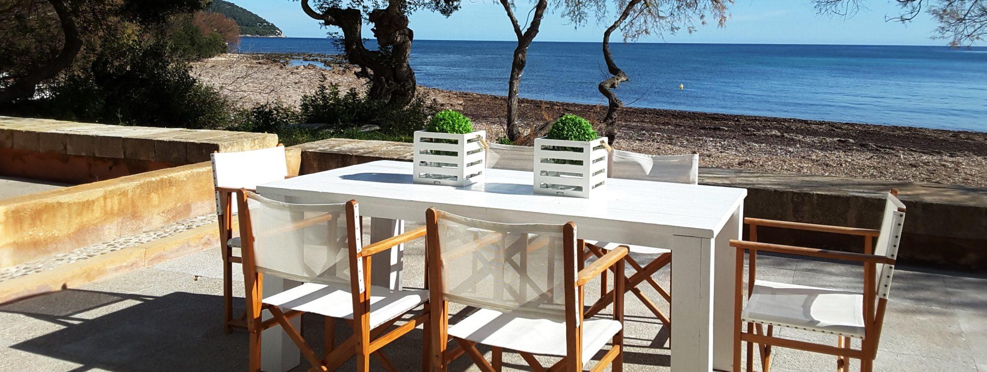 Direkt am Meer in Port Verd, renoviertes Haus für 6 Personen